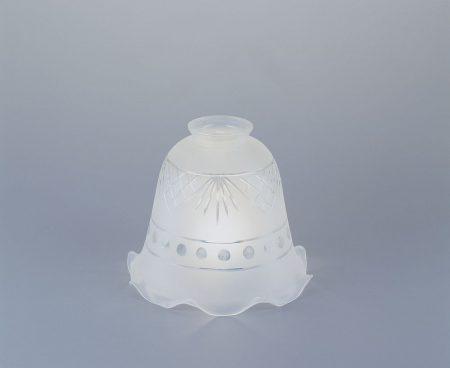 Glasschirm mit Schliff