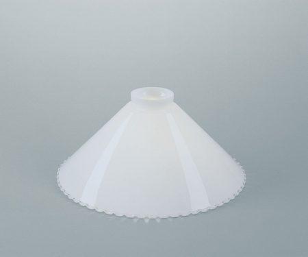 Glasschirm weiß