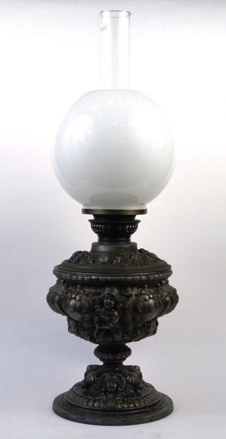 Gründerzeit Petroleumlampe